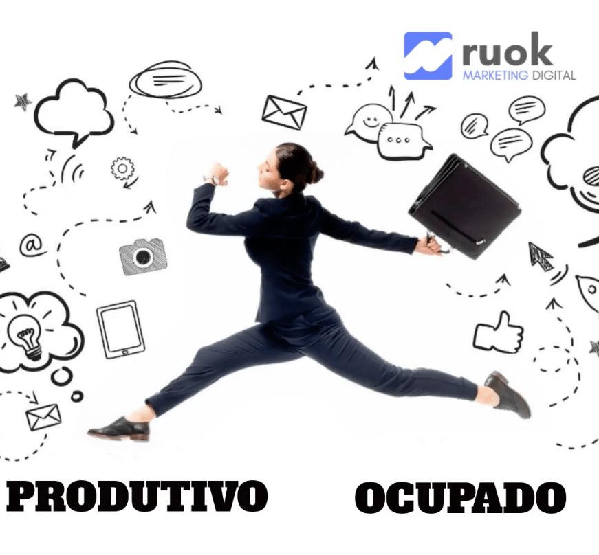 Produtivo ou Ocupado?